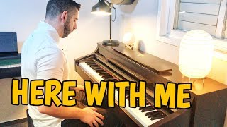 Marshmello - Here With Me Feat. CHVRCHES (Piano Cover)