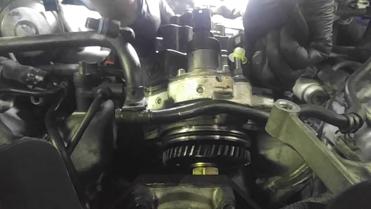 medium resolution of 6 6l fuel injection pump removal youtube 3406e fuel check valve location on 6 6l duramax fuel system diagram