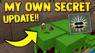 How to get your OWN SECRET!! (IN GAME) | Build a boat for Treasure ROBLOX