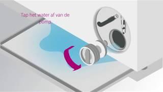 Wasmachine - Foutmelding Е18 wasmachine Бош