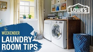 Declutter & De-Ugly Your Laundry Room