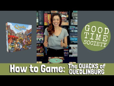 How To Game | The Quacks Of Quedlinburg | Becca Scott Teaches How To Play Tabletop Games