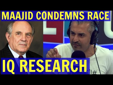Maajid Nawaz CONDEMNS Research into RACE IQ/Criminality Links - LBC