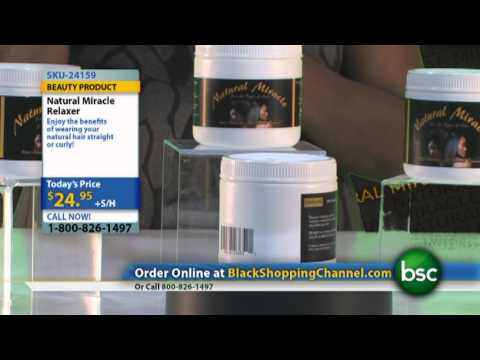 Natural Miracle Relaxer on Black Shopping Channel
