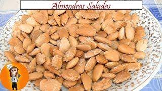 Almendras Saladas Sin Aceite