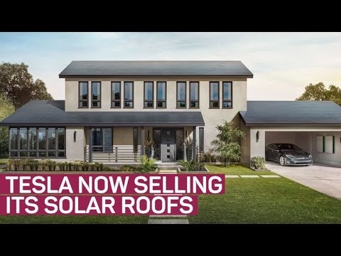 Thumbnail: Raise the roof: Tesla's solar may cost you less