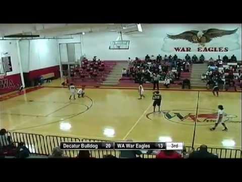 Girls Varsity Basketball- Woodward Academy vs Decatur