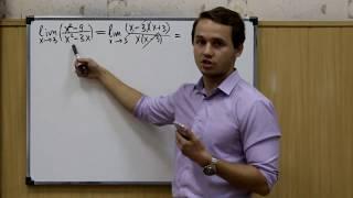 Урок 7 - Решение задач на пределы и производную
