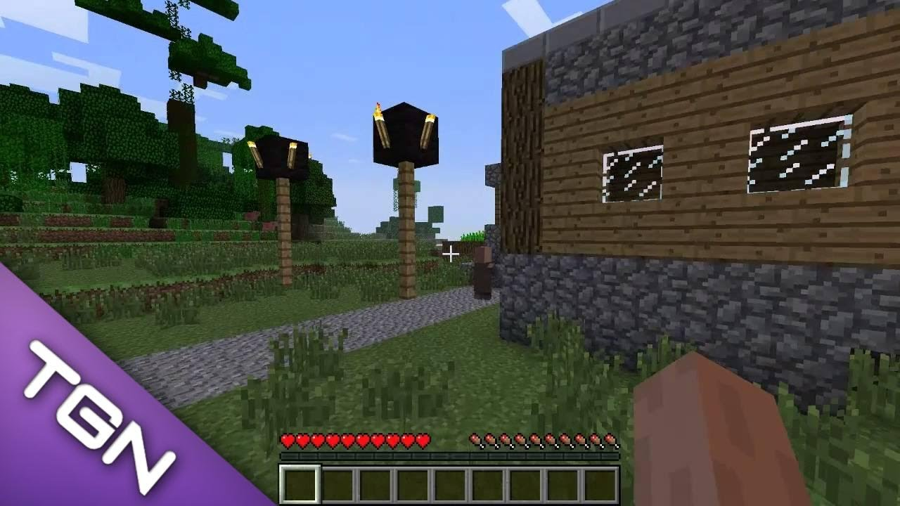 Updated Minecraft 1 8 9 - Huge NPC Village Seed + Blacksmith