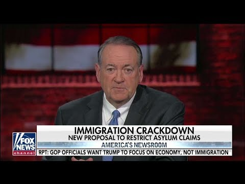 Huckabee: If Midterms Are a 'True Referendum' on Trump, We're in Good Shape
