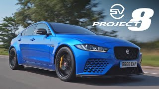 Jaguar XE SV Project 8 Touring: Road Review | Carfection 4K