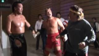 2005.10.22 RIKI CHOSYU BACKSTAGE VTR 長州力 検索動画 28