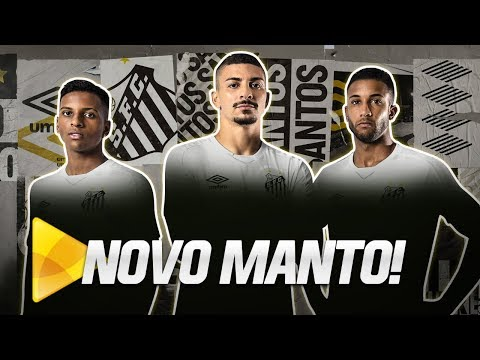 O NOVO MANTO DO SANTOS: 3 COROAS, UM REINO E UMA CAMISA!