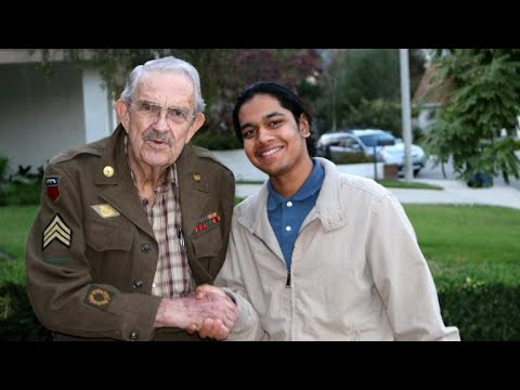 20-year-old on nation-wide mission to interview WWII veterans