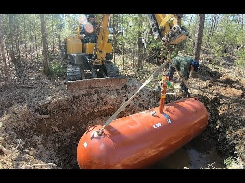 Burying A Propane Tank For A Generator