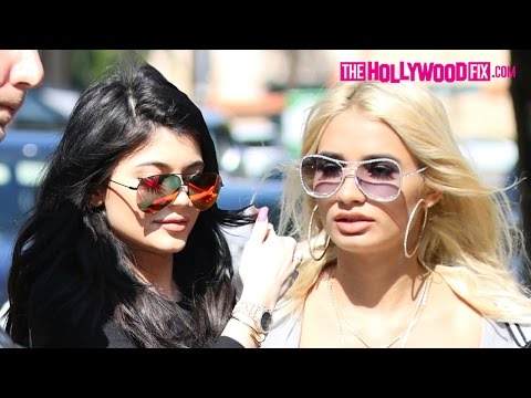 Kylie Jenner And Pia Mia Have Lunch At Urth Caffe 5.28.15 - TheHollywoodFix.com