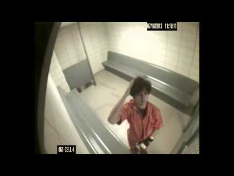 Dzhokhar Tsarnaev cell surveillance (full video)