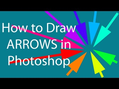 How To Draw Arrows In Photoshop On PC & Mac