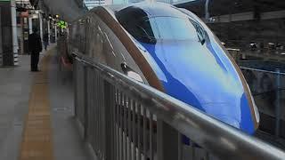 北陸新幹線はくたか571号・東京駅を出発