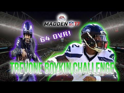 MADDEN 17 THE DISRESPECT IS REAL!! Pt. 1 TREVONE BOYKIN CHALLENGE