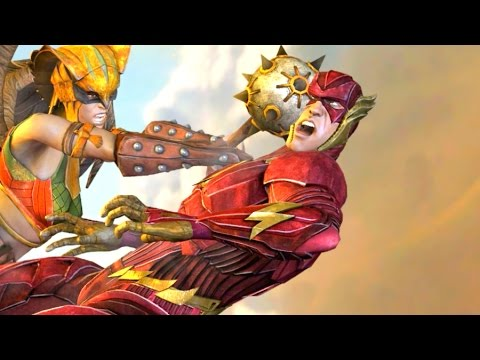 Injustice Gods Among Us All Super Moves on The Flash ...