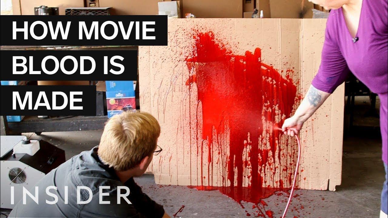 Како се прави лажната крв во филмовите?