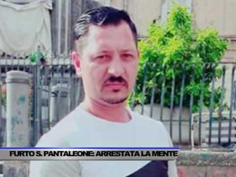 """CATTURATA LA """"MENTE"""" DEL FURTO DEL TESORO DI SAN PANTALEO - SERVIZIO TG OGGI DEL 21/04/2017"""