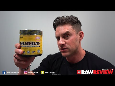 MAN Sports Game Day Pre-Workout Supplement | MassiveJoes Raw Review