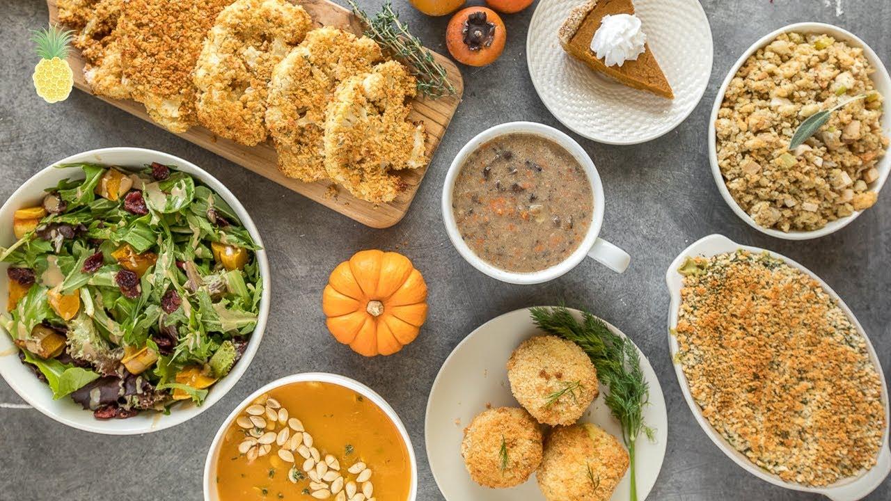 The Ultimate Vegan Thanksgiving Recipes Youtube