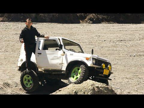 Suzuki Jimny Ja11 mandando vê no offroad