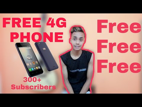 Free 4G phone || Give Away || 300+ subscribers