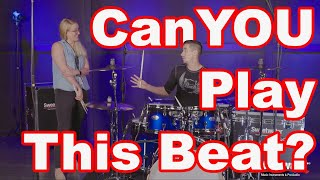 Can YOU Play This Beat? (I ask a PRO Drummer)