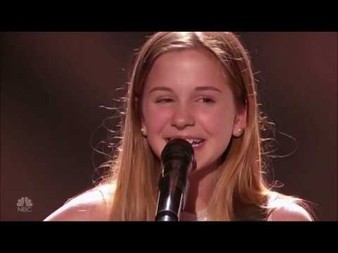 Marisa McKaye: 12 Yearold With Gifted Voice WOWS The Judges  America's Got Talent 2017