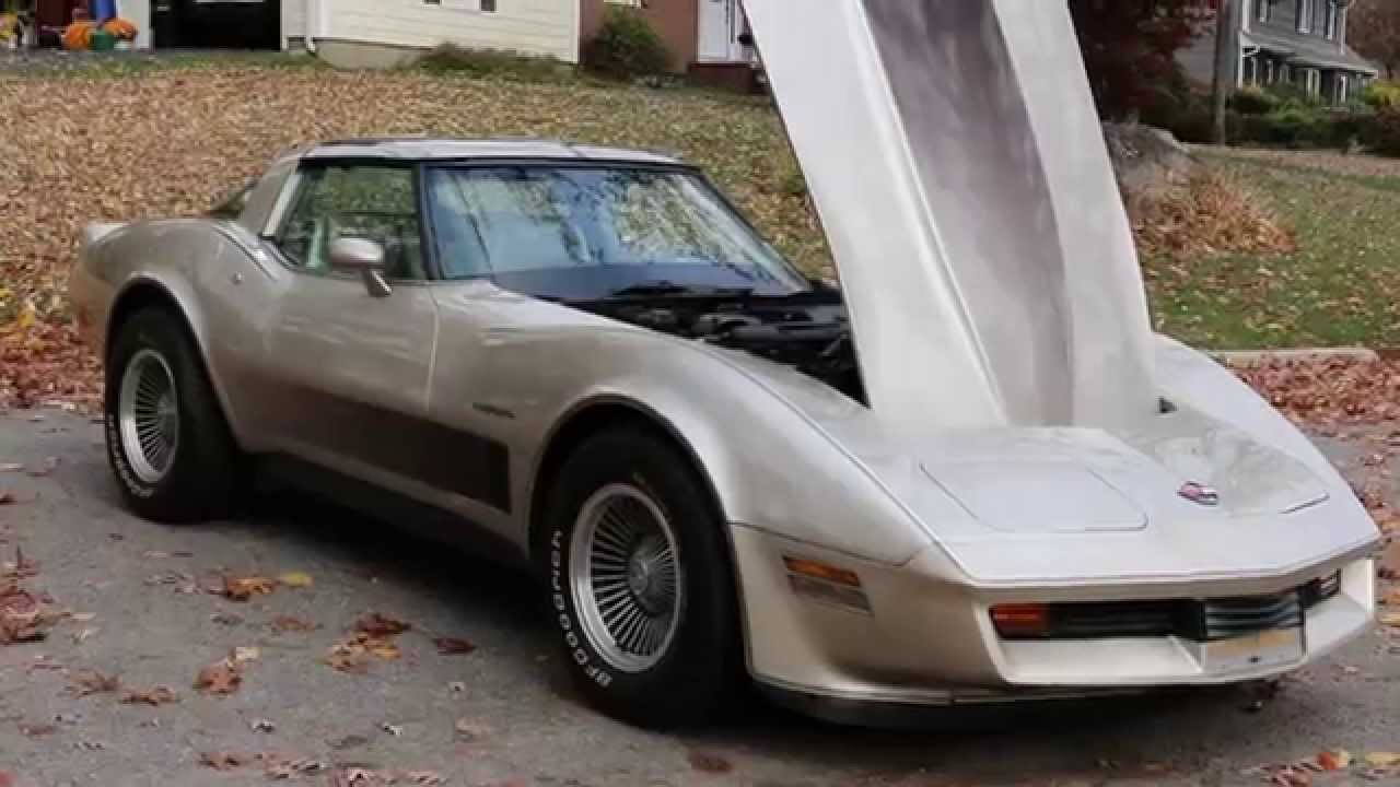 1982 Corvette Collectors Edition For Sale30000 MilesLoaded