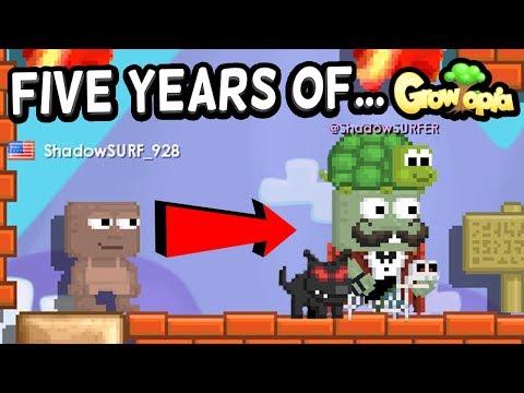 Five Years of Growtopia... @ShadowSurfer