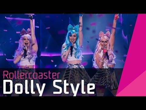 Dolly Style – Rollercoaster | Melodifestivalen 2016