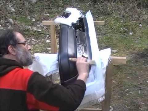 fabrication d 39 un moule en fibre de youtube. Black Bedroom Furniture Sets. Home Design Ideas