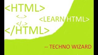 Setup | Learn HTML | Build Website | Easy | Beginners | Techno Wizard
