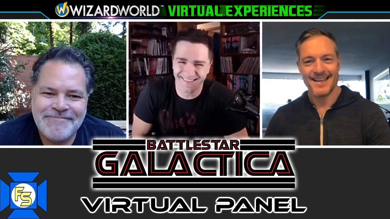 Download BATTLESTAR GALACTICA Panel – Wizard World Virtual Experiences 2020