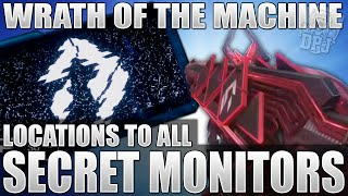 destiny all 5 hidden monitors locations lazer room mystery raid exotic pulse rifle quest