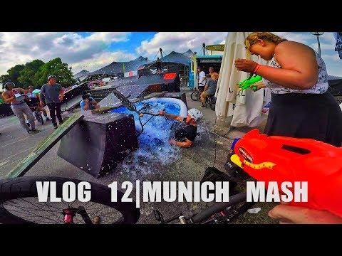 Extreme sports festival in Germany  Vlog 12   Munich Mash 2017