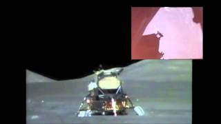 Apollo 17 Lunar Liftoff HD (Inside and Outside view)