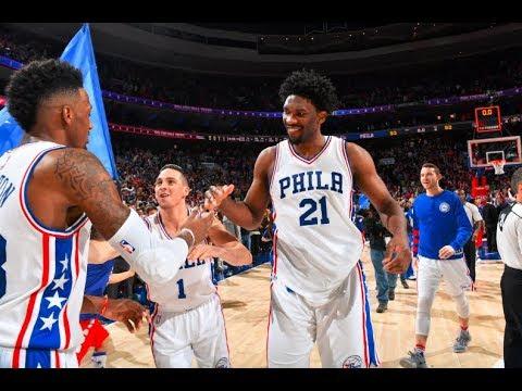 Philadelphia 76ers' Top 10 Plays Of the 2016-2017 NBA Season