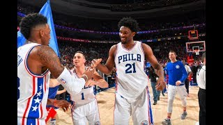 Philadelphia 76ers' top 10 plays of the 2016-2017 nba season