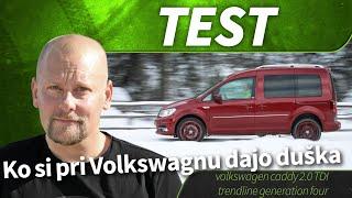 test volkswagen caddy 2 0 TDI trendline