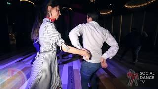 İlker Özören & Damla Turgut - Salsa social dancing | EDF 2018