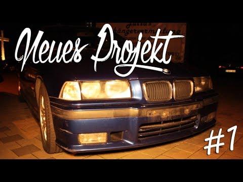 Unser neues Projekt: BMW e36 zum Driften   Teil 1