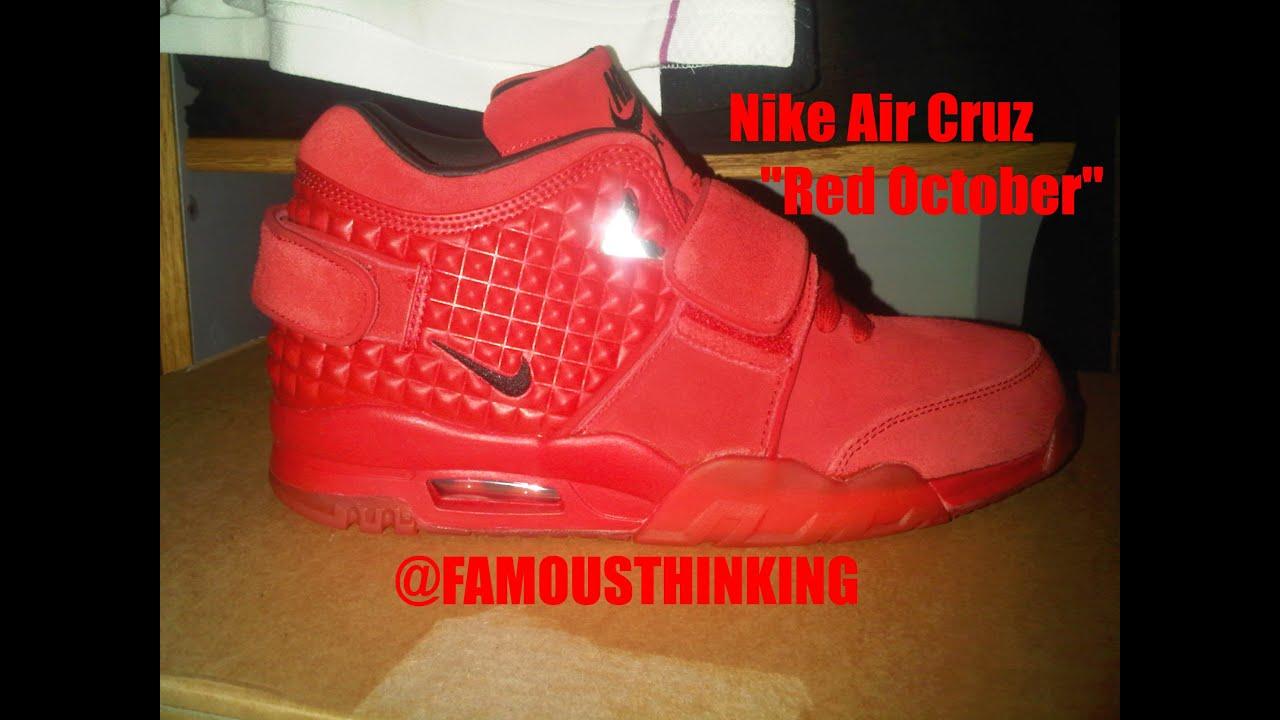 Nike Air Cruz Trainer 'Red October' In