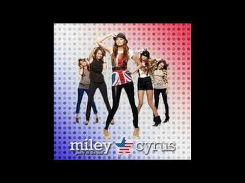 miley cyrus - party in the USA with lyrics