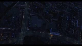 Kolding city by night..